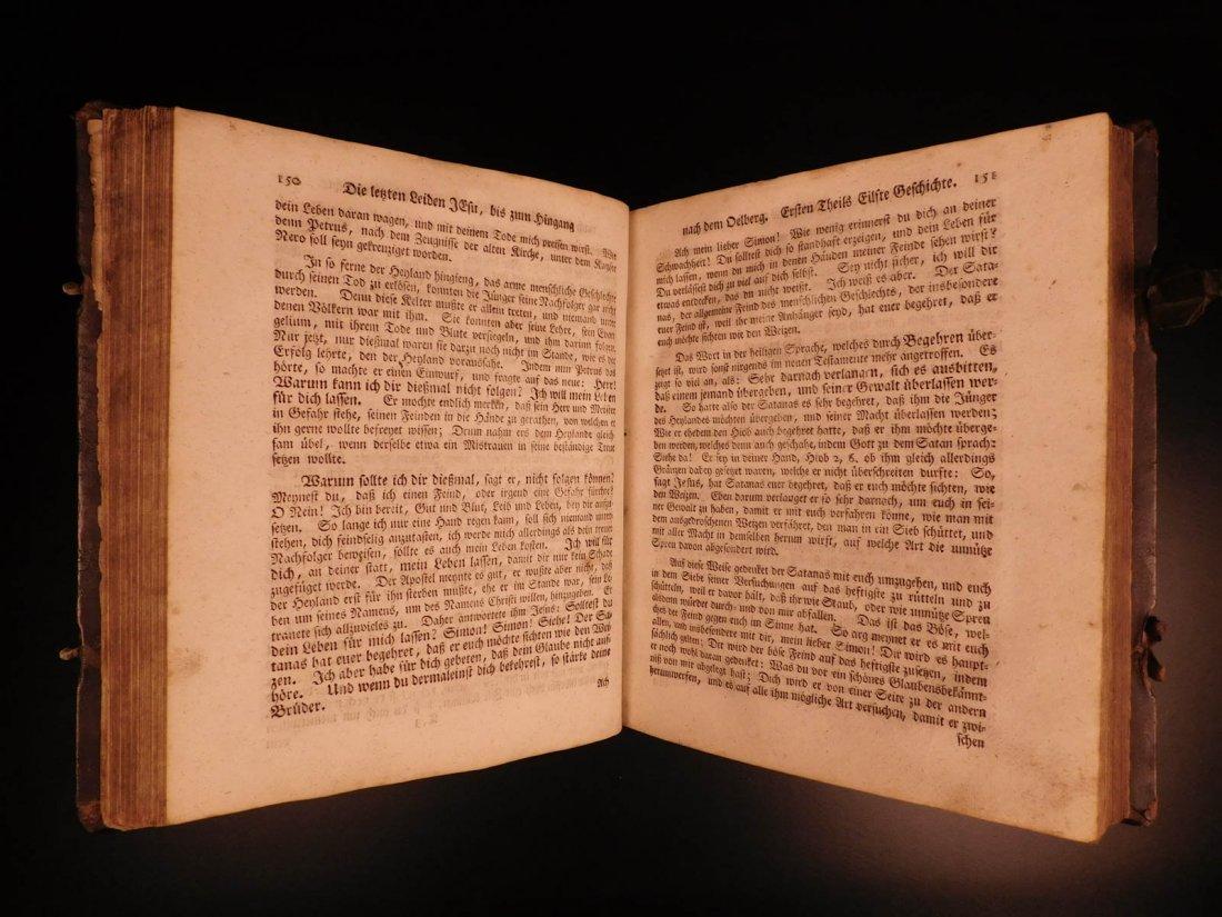 1761 German Lutheran Book Prayers Bible Jesus Flensburg - 7