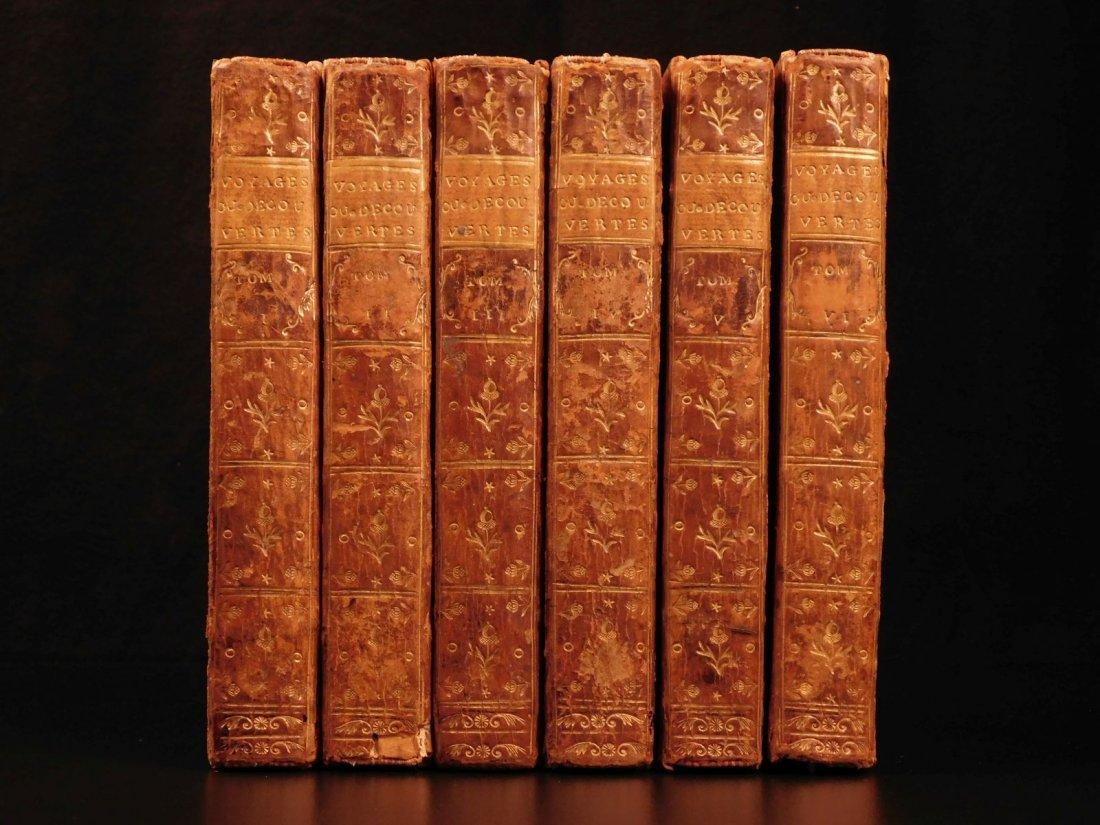 1768 VOYAGES John Barrow Columbus Gama Cortez Magellan