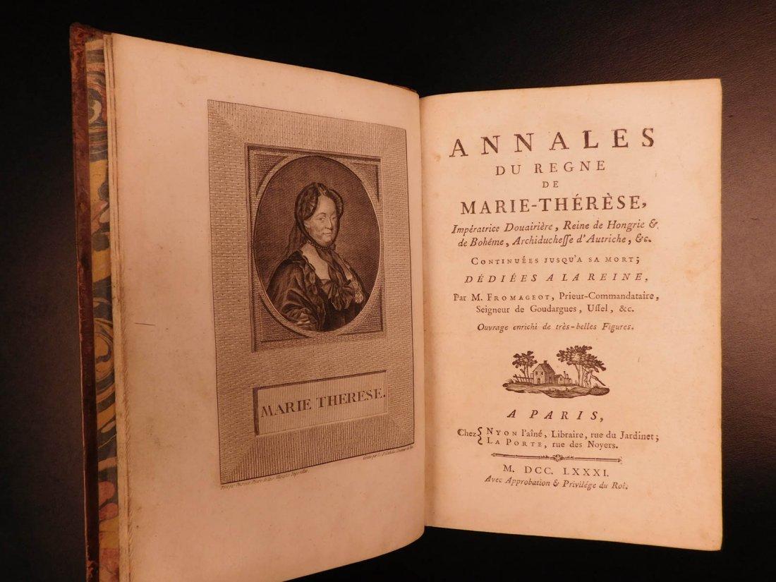 1781 Annals of Maria Theresa HAPSBURG Austria Holy Roma - 4