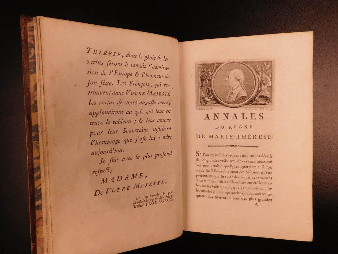 1781 Annals of Maria Theresa HAPSBURG Austria Holy Roma - 6