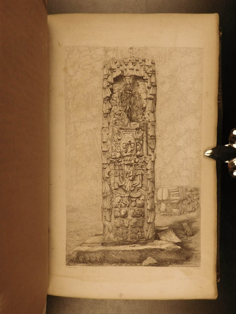 1852 Yucatan Incidents of Travel John Stephens MAYA - 7