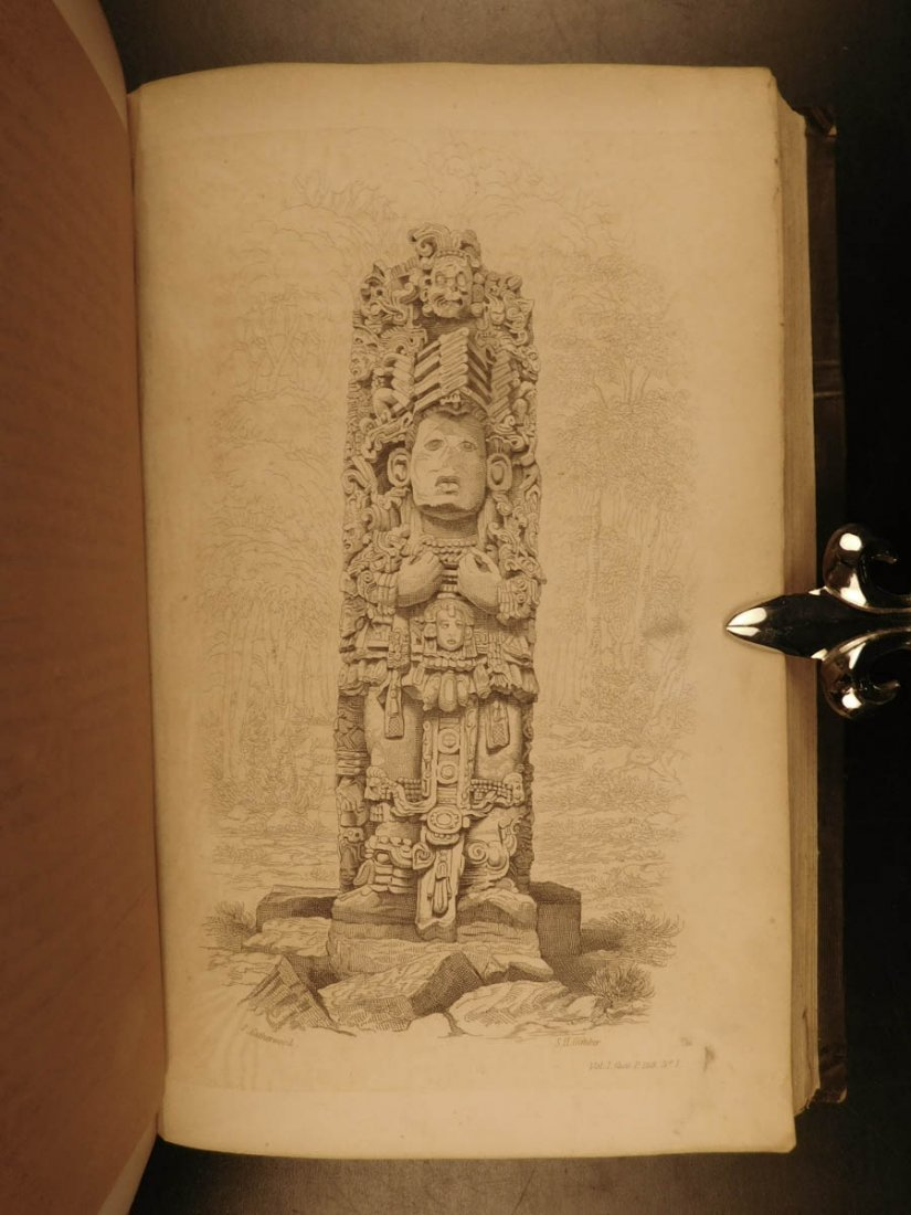 1852 Yucatan Incidents of Travel John Stephens MAYA - 8