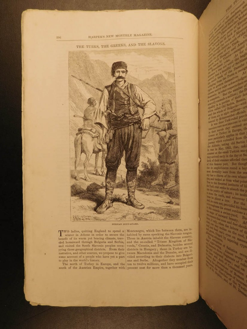 1867 Harper's Monthly Magazine Civil War Memoir Illus - 6