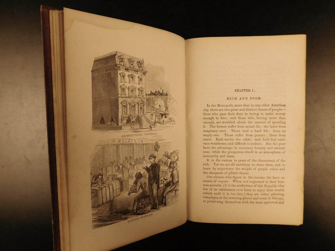1870 NEW YORK City Great Metropolis History Susan B - 4