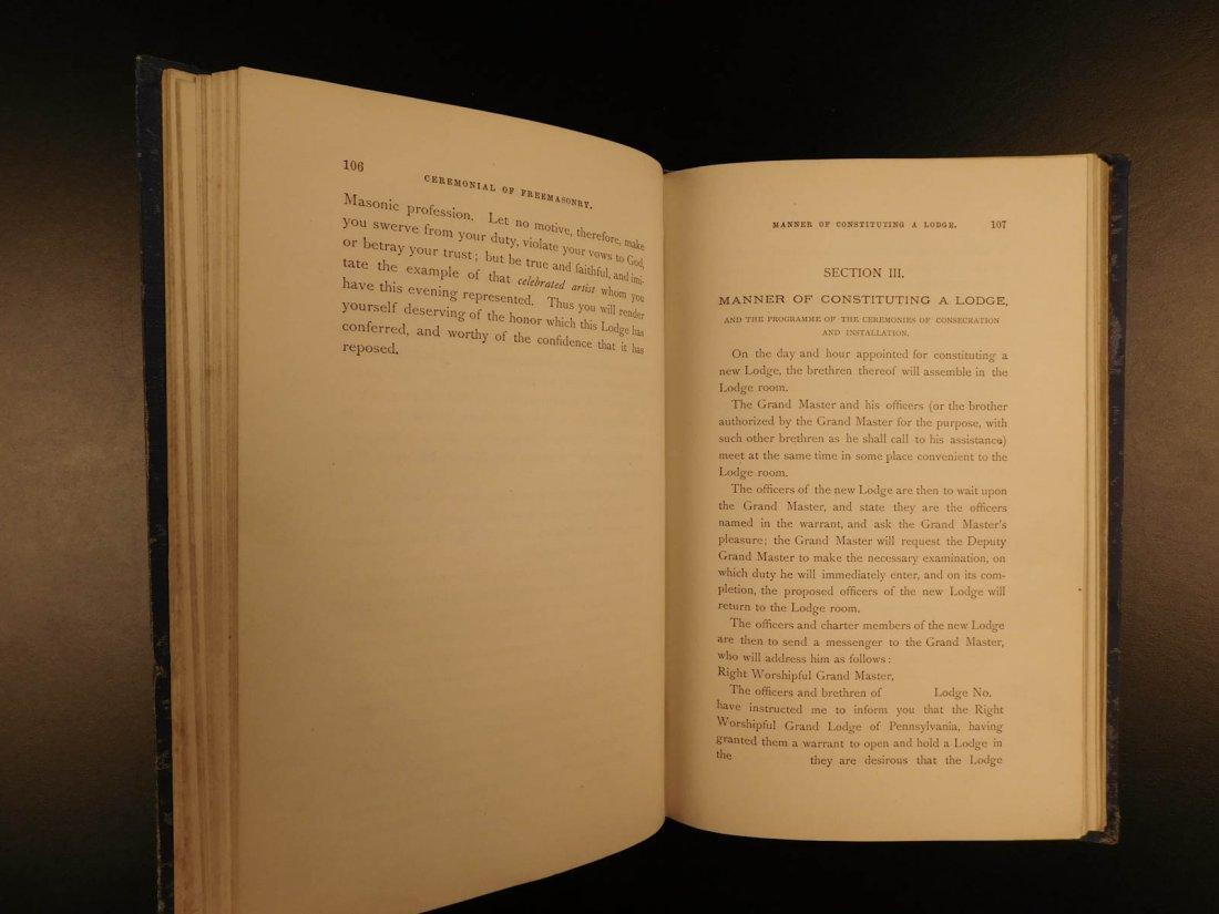 1878 Ahiman Rezon Freemason Guide Grand Lodge Masonic - 8