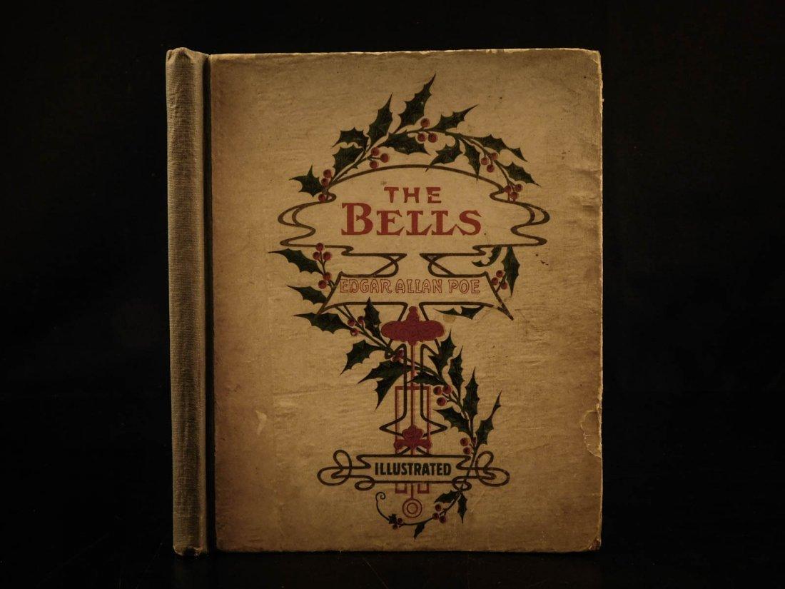 1881 1st ed The Bells Edgar Allen POE Plates Esoteric