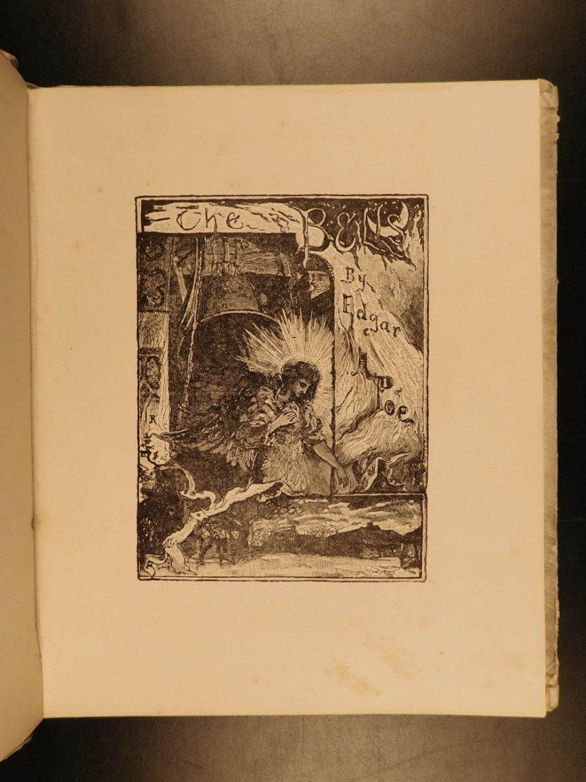 1881 1st ed The Bells Edgar Allen POE Plates Esoteric - 2