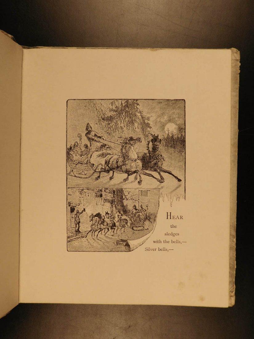 1881 1st ed The Bells Edgar Allen POE Plates Esoteric - 6