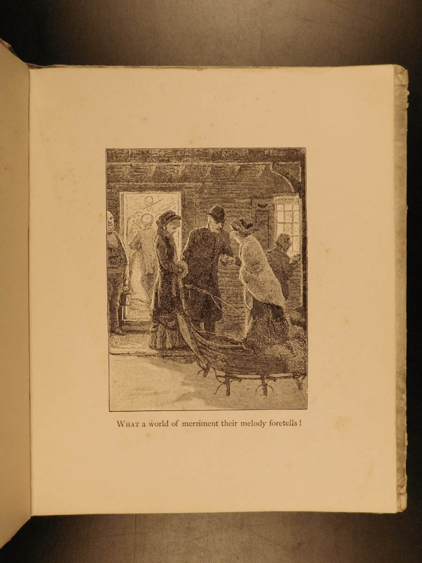 1881 1st ed The Bells Edgar Allen POE Plates Esoteric - 7