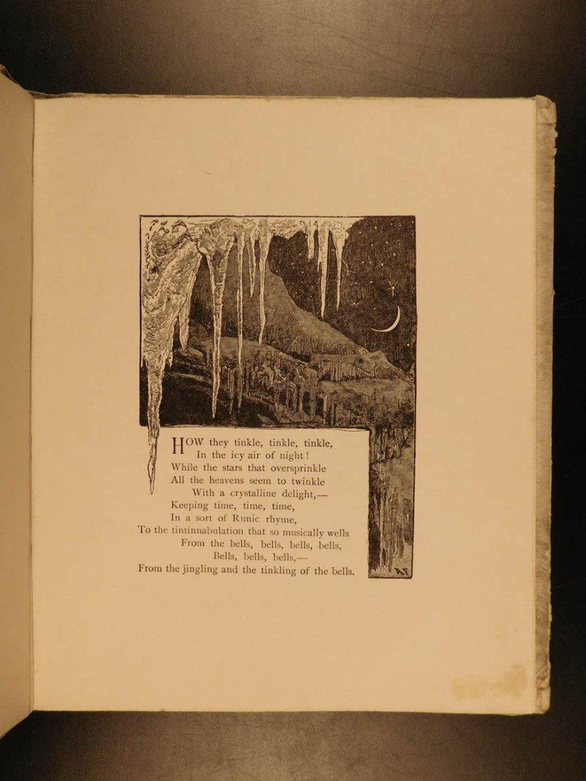 1881 1st ed The Bells Edgar Allen POE Plates Esoteric - 8