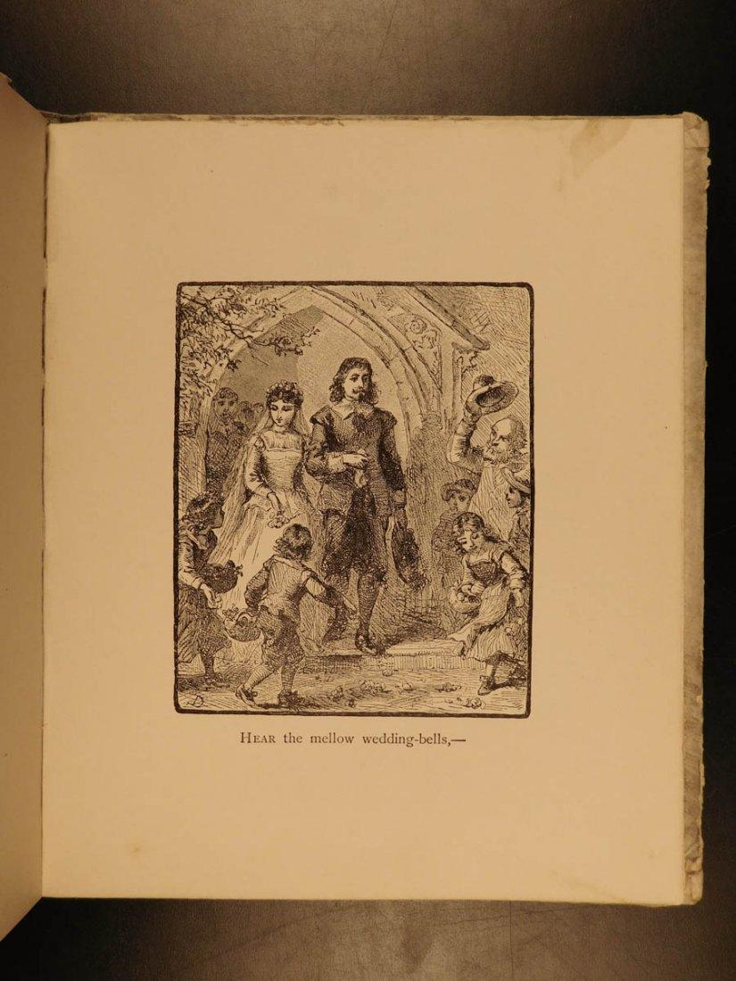 1881 1st ed The Bells Edgar Allen POE Plates Esoteric - 9