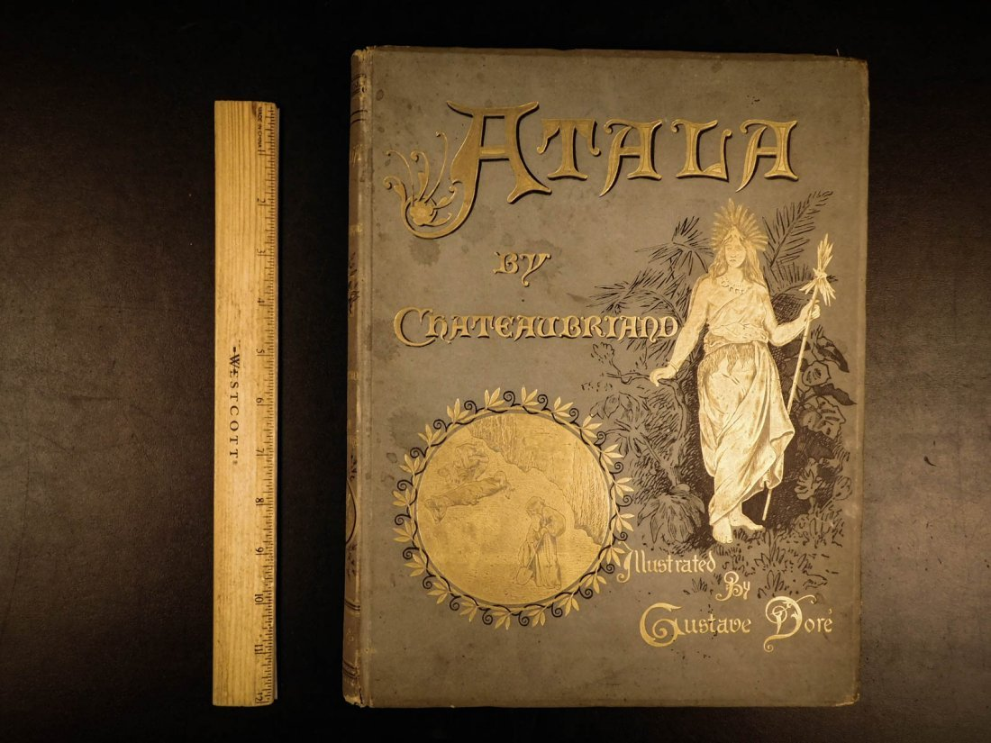 1884 Atala by Chateaubriand Gustave DORE Art Illus - 2