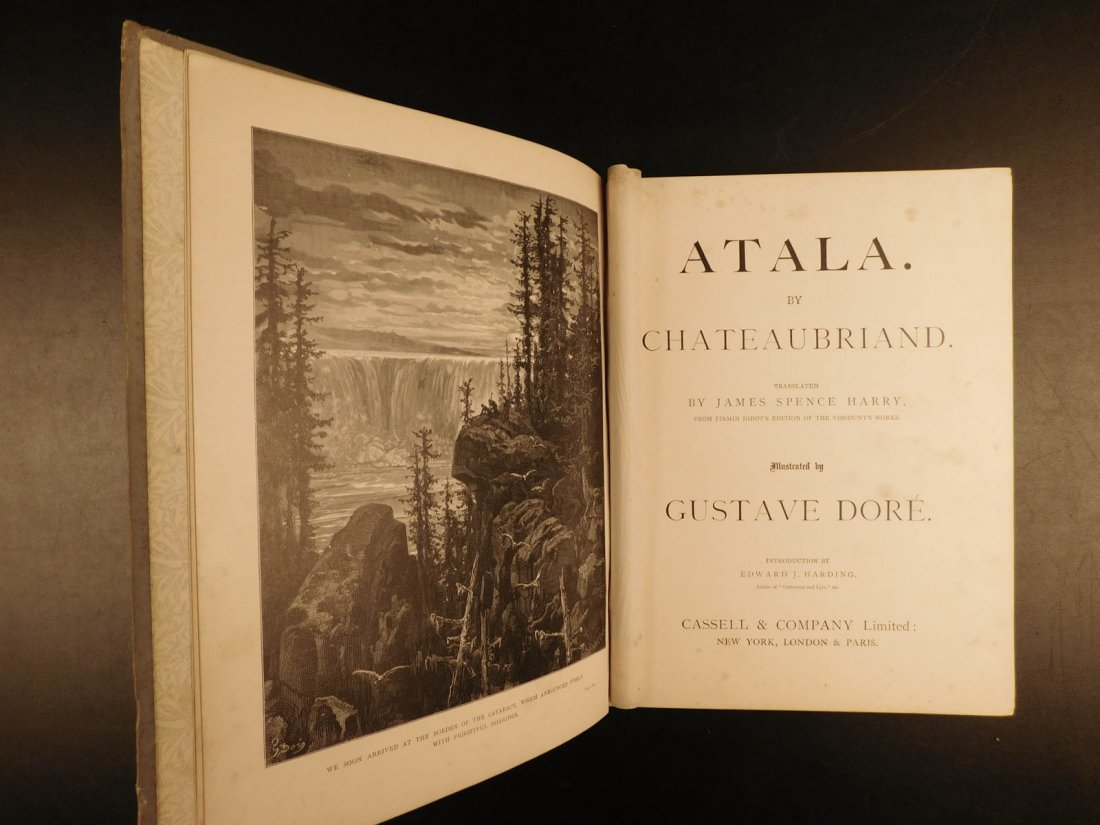1884 Atala by Chateaubriand Gustave DORE Art Illus - 3