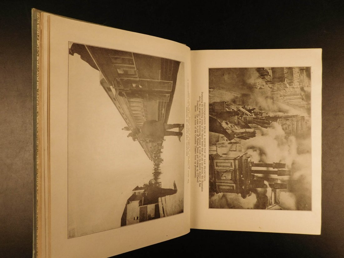 1906 1st ed San Francisco Earthquake Calamity Morris - 10