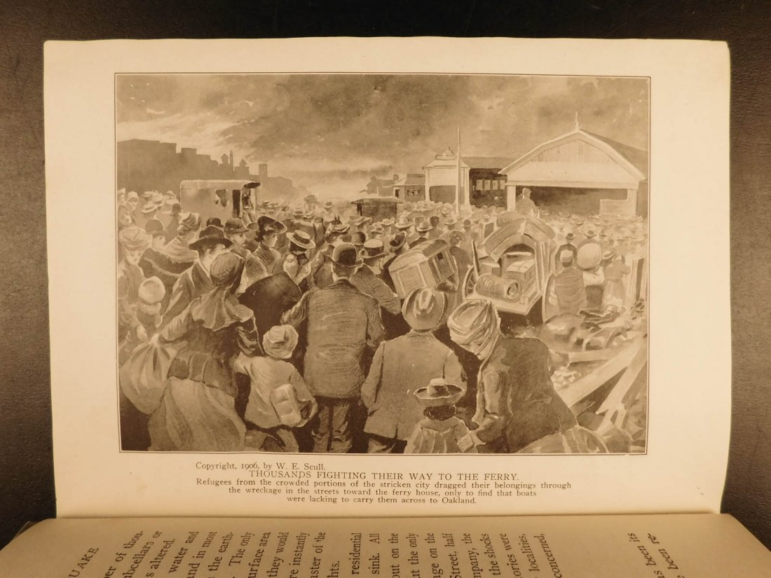 1906 1st ed San Francisco Earthquake Calamity Morris - 7