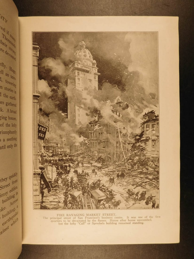 1906 1st ed San Francisco Earthquake Calamity Morris - 9