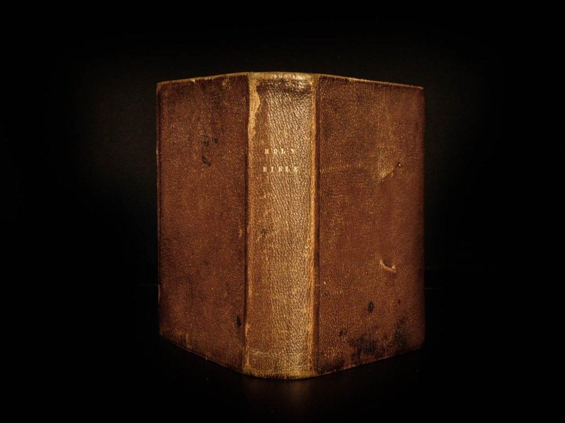 1864 Civil War Holy BIBLE Pocket-size English American