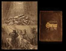 1890s History of CRUSADES Michaud Holy Wars Jerusalem