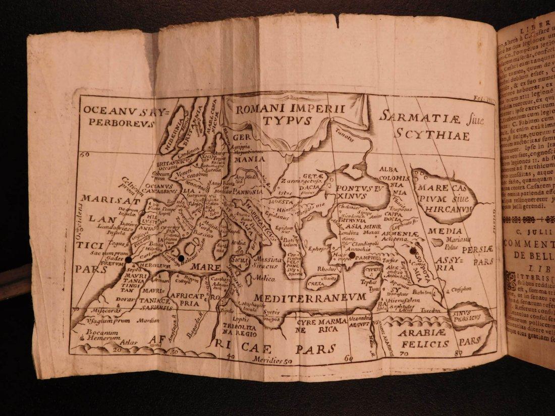 1691 Julius Caesar WAR Commentary Military Tactics