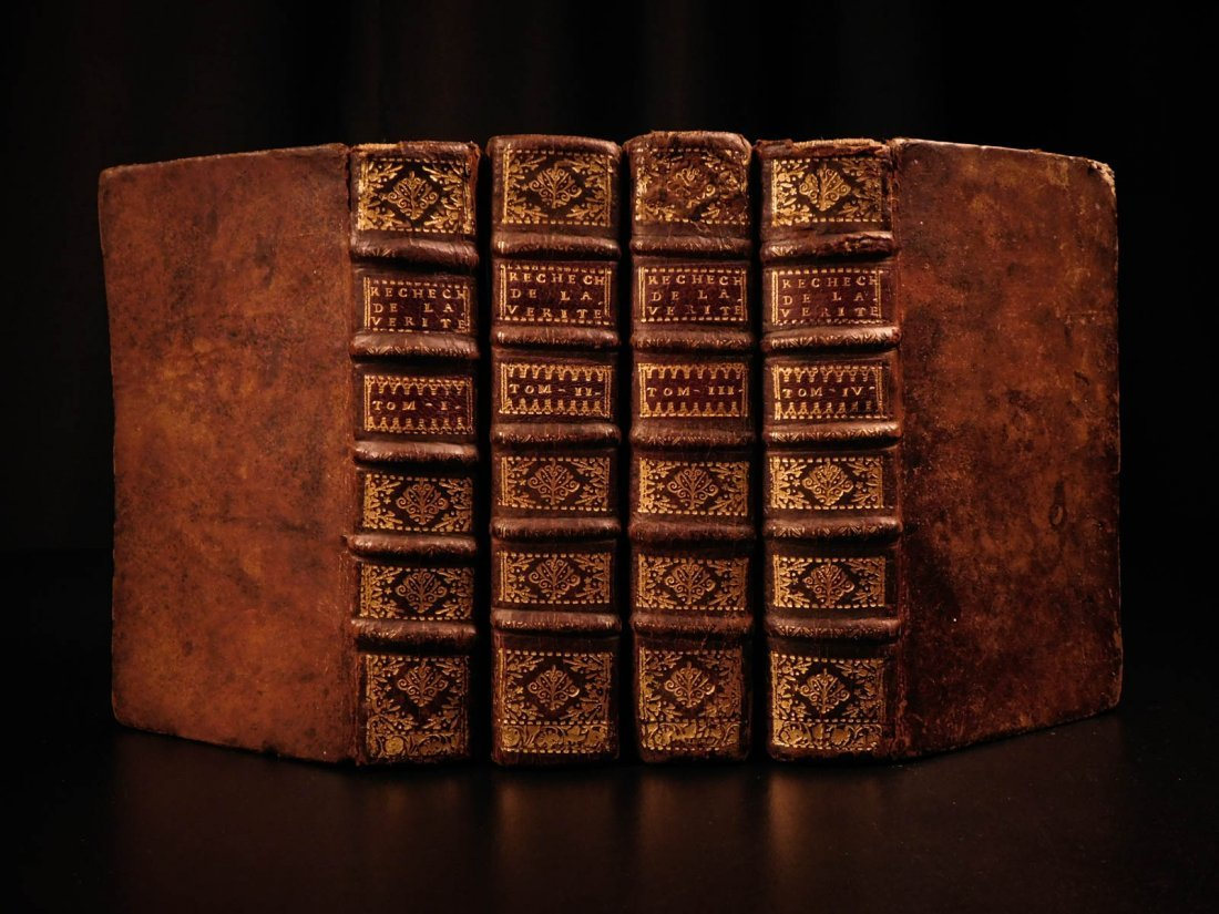 1721 Malebranche Philosophy Search After Truth Nature