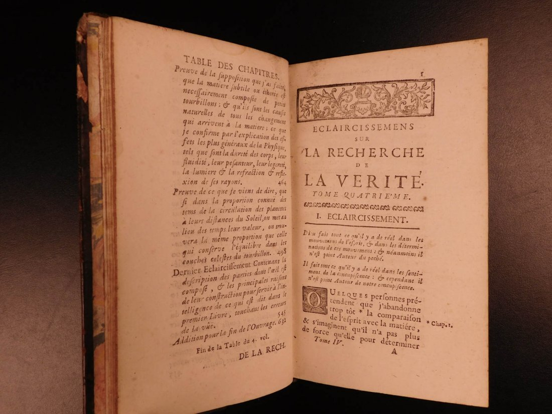 1721 Malebranche Philosophy Search After Truth Nature - 3