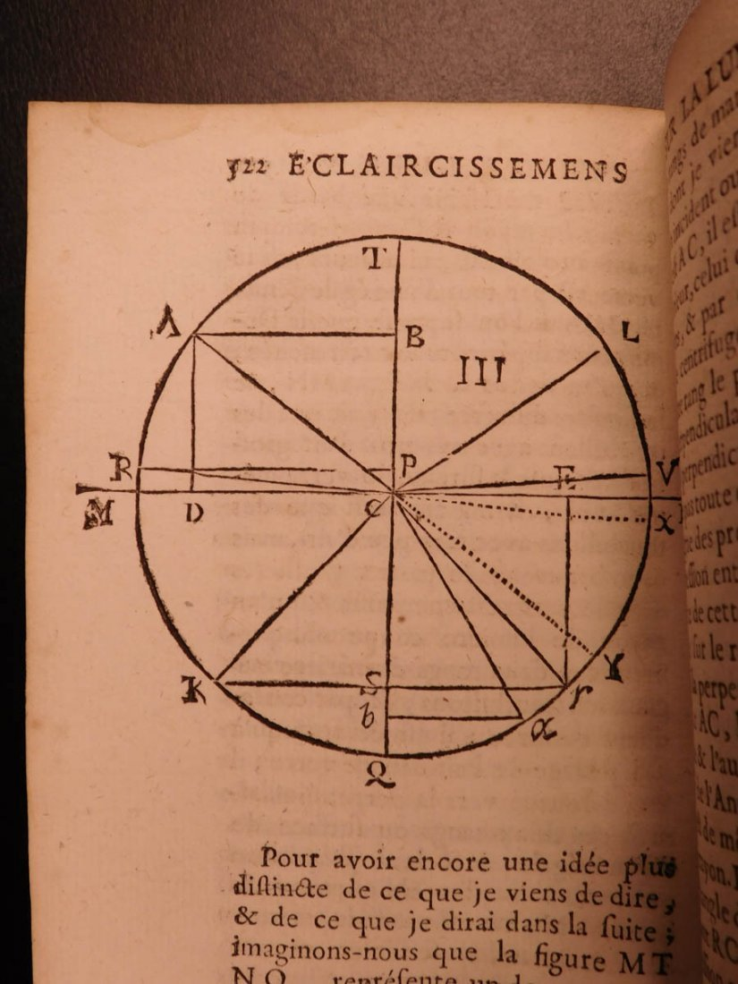1721 Malebranche Philosophy Search After Truth Nature - 9