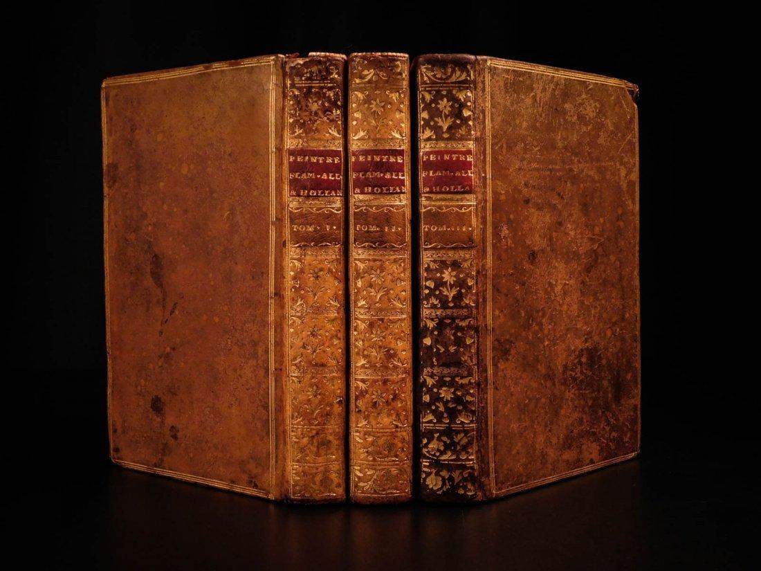 1753 1st ed ART of Famous Painters Flemish German Dutch