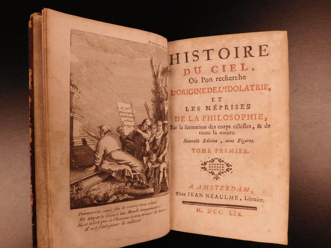 1759 Astronomy Astrology Cosmogony Occult Egypt - 2