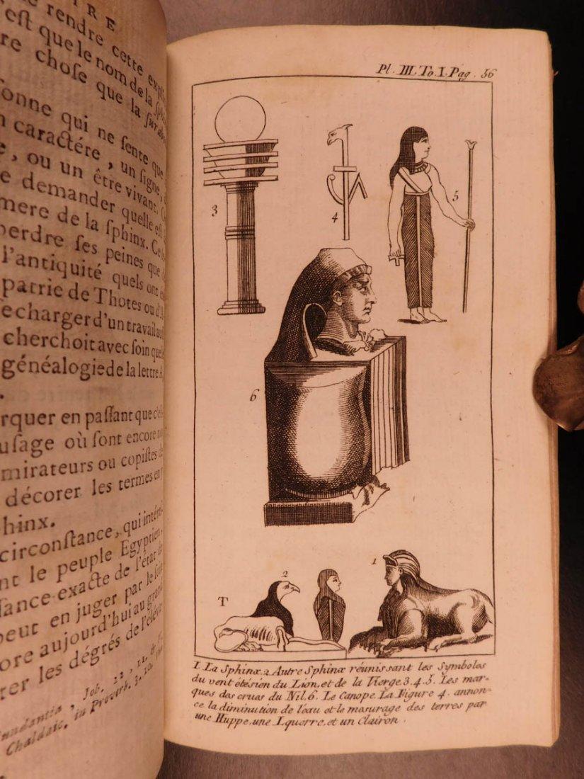 1759 Astronomy Astrology Cosmogony Occult Egypt - 5
