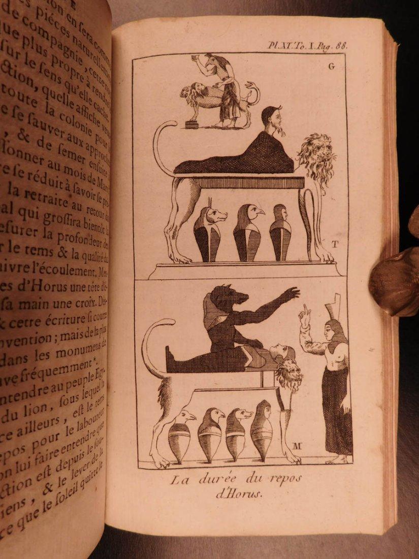 1759 Astronomy Astrology Cosmogony Occult Egypt - 8