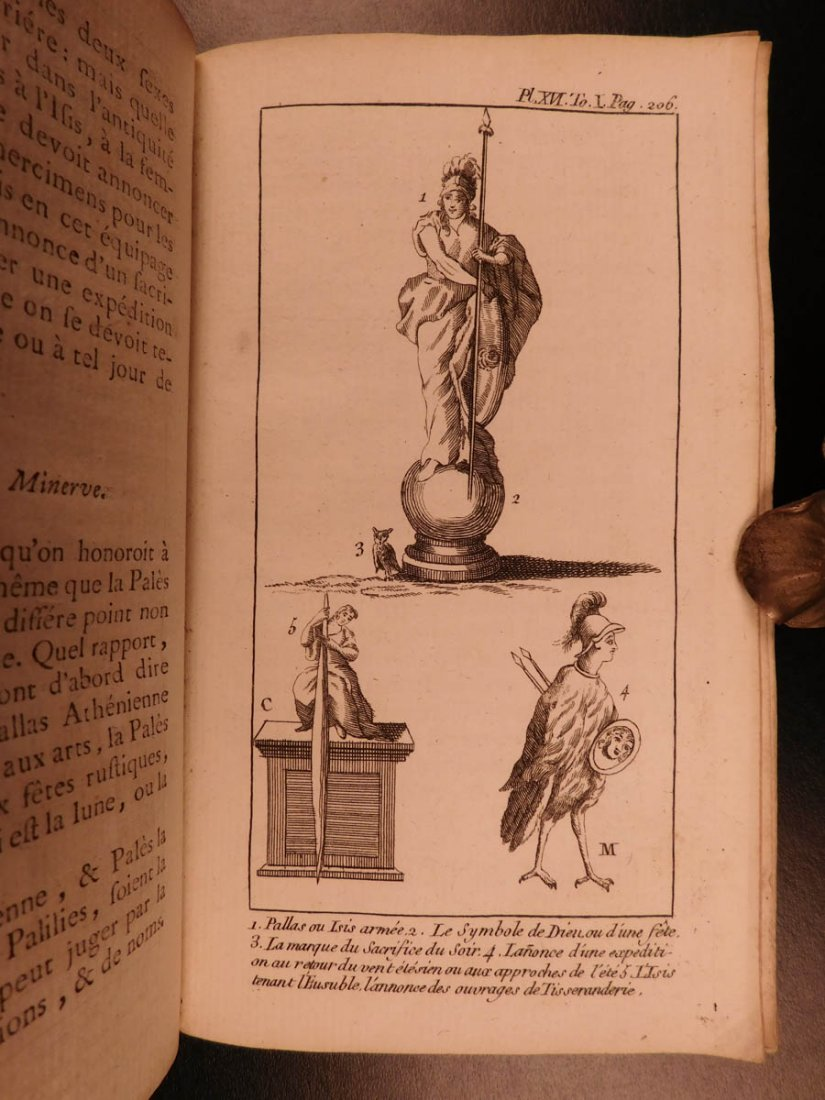 1759 Astronomy Astrology Cosmogony Occult Egypt - 9