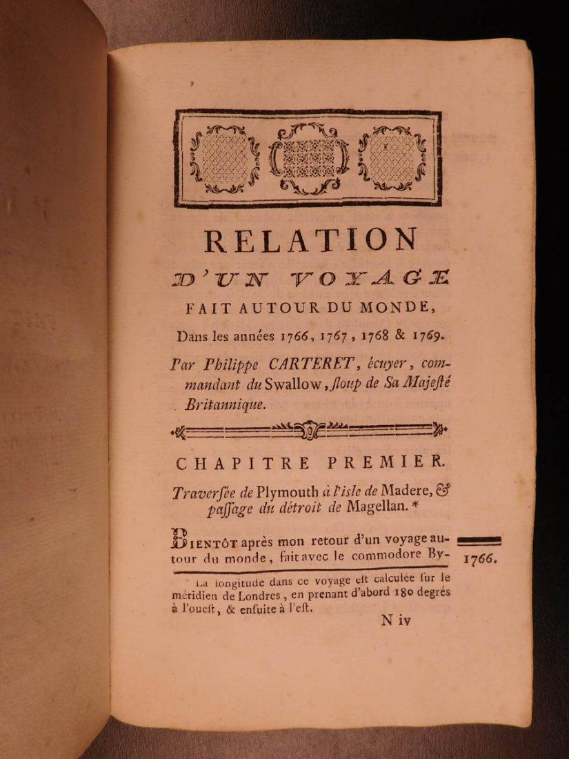 1774 1ed Voyages Captain Cook Pacific Ocean Wallis - 6