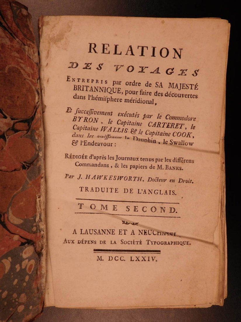 1774 1ed Voyages Captain Cook Pacific Ocean Wallis - 7