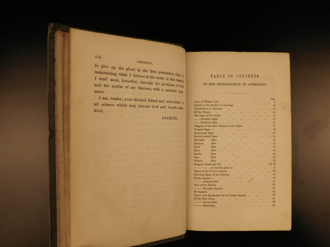 1852 William Lilly Astrology Stars Navigation Occult - 5