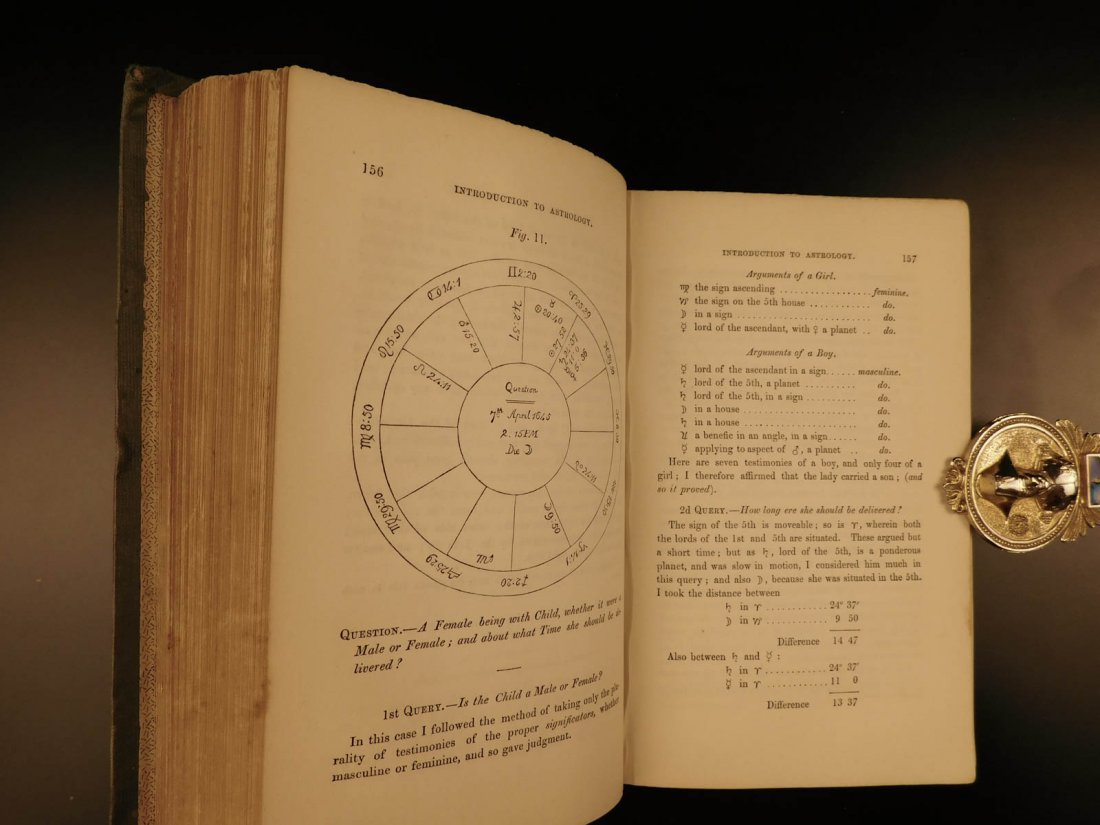 1852 William Lilly Astrology Stars Navigation Occult - 9