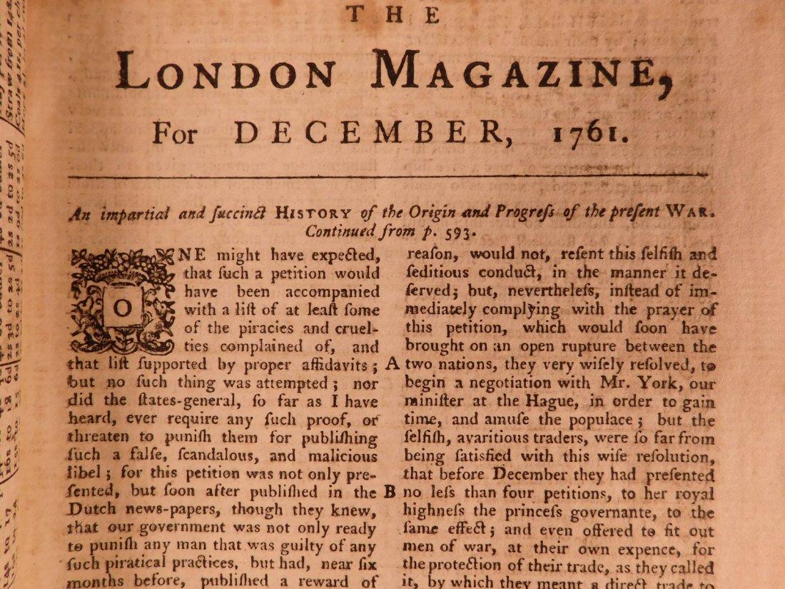 1761 London Magazine EGYPT Mythology American Trade - 4