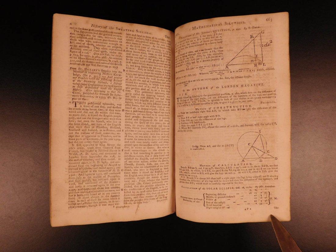 1761 London Magazine EGYPT Mythology American Trade - 6