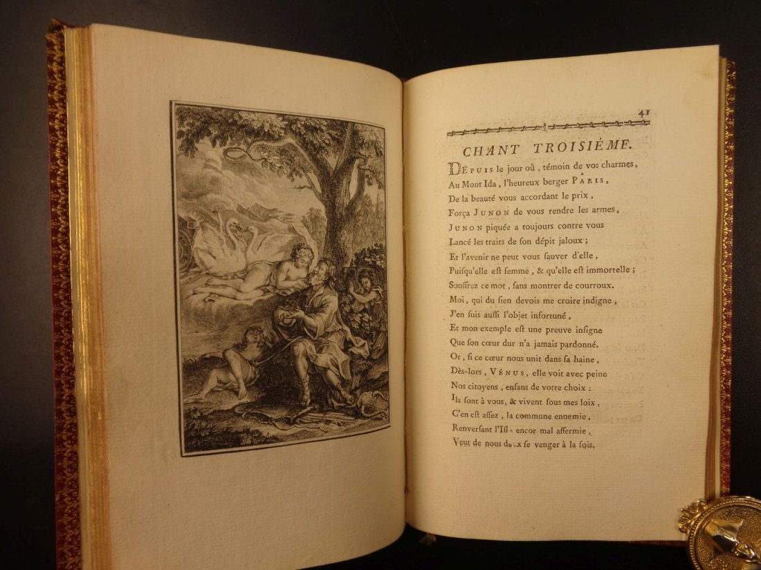 1769 1ed FINE BINDING Narcissus Venus Illustrated - 8