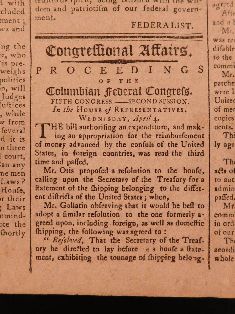 1798 Massachusetts Spy Isaiah Thomas Newspaper American - 7