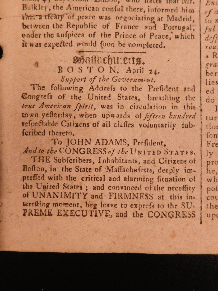1798 Massachusetts Spy Isaiah Thomas Newspaper American - 8