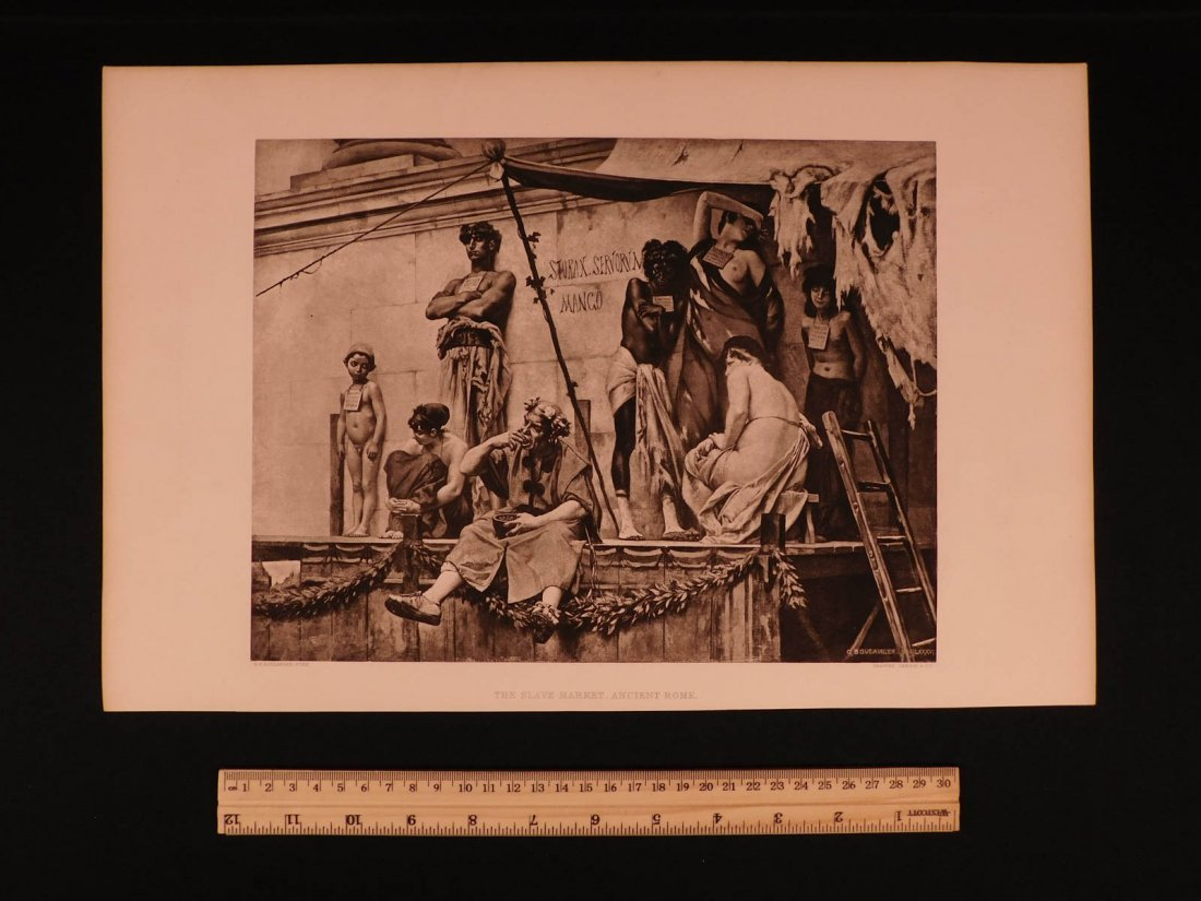 19th-century SET of 75 Illustrated Engravings History - 2