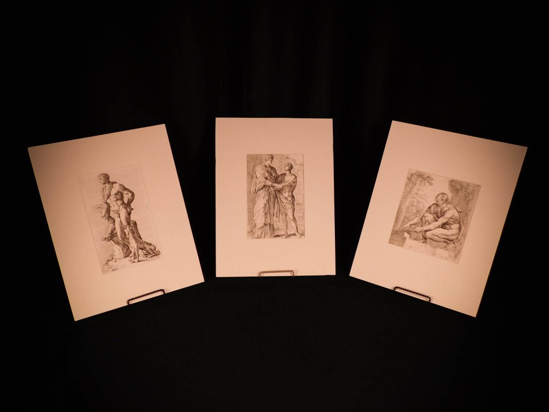 1638 3 Francois Perrier Icones Engravings Classical