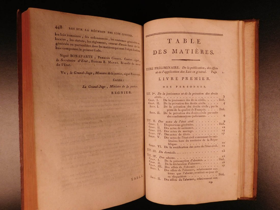 1804 French Civil Code Napoleonic War French Revolution - 10