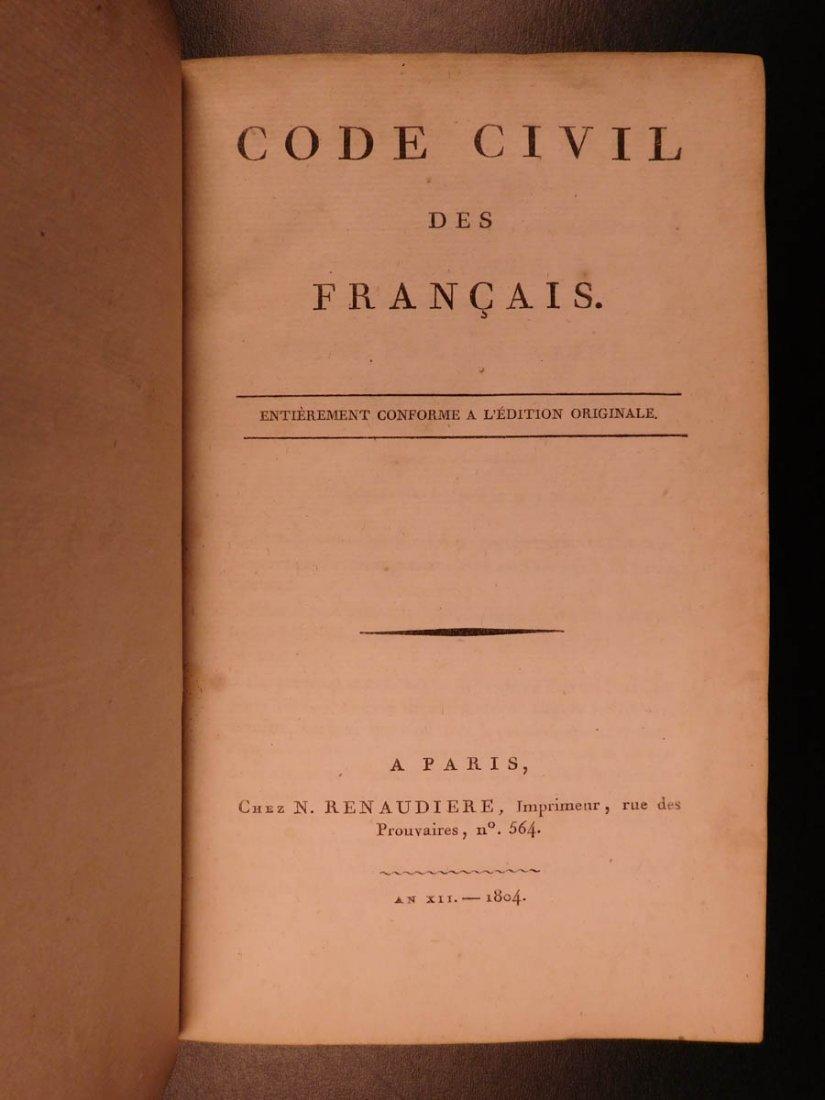 1804 French Civil Code Napoleonic War French Revolution - 2