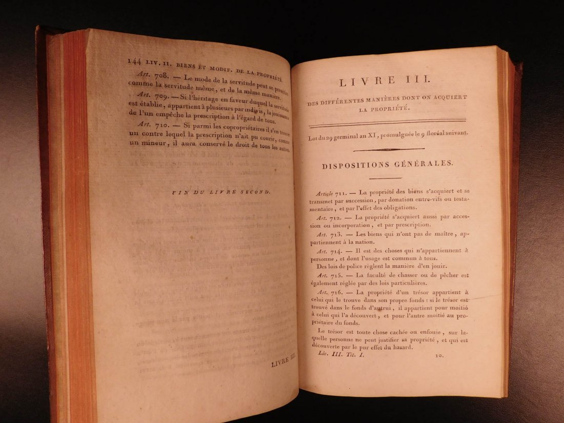1804 French Civil Code Napoleonic War French Revolution - 6