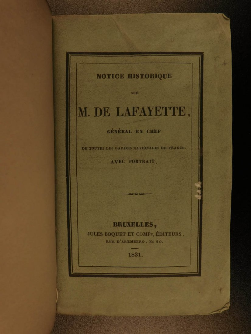 1809 General Lafayette American Revolution French - 3
