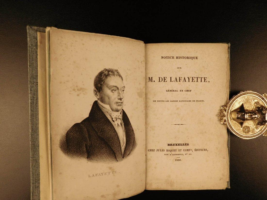 1809 General Lafayette American Revolution French - 4