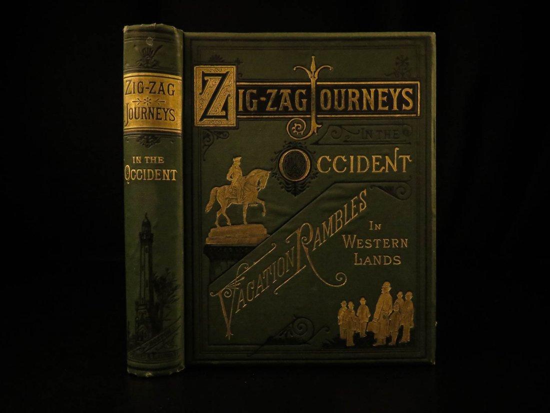 1883 1ed Journeys in Occident California Mormonism
