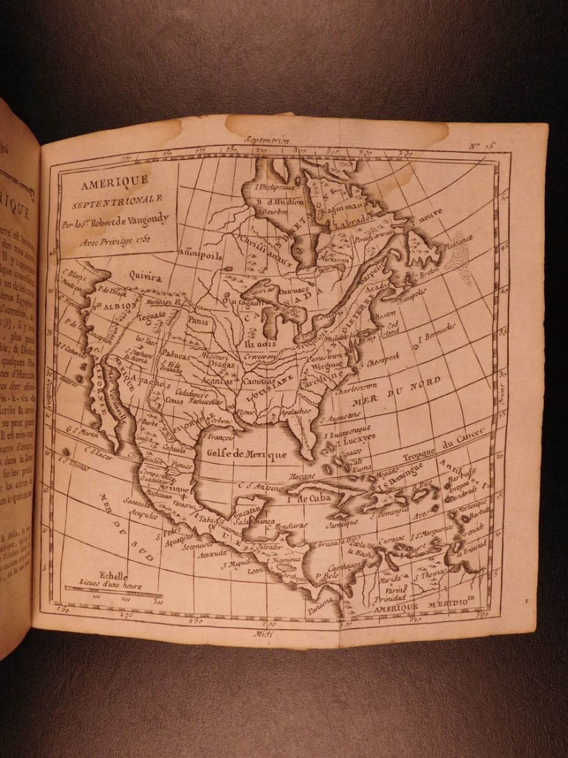 1780 VOYAGES 17 ATLAS Maps Geography Asia Africa Europe