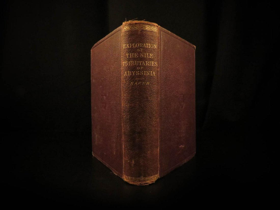 1868 Baker Exploration of Nile Tributaries Africa Egypt - 2